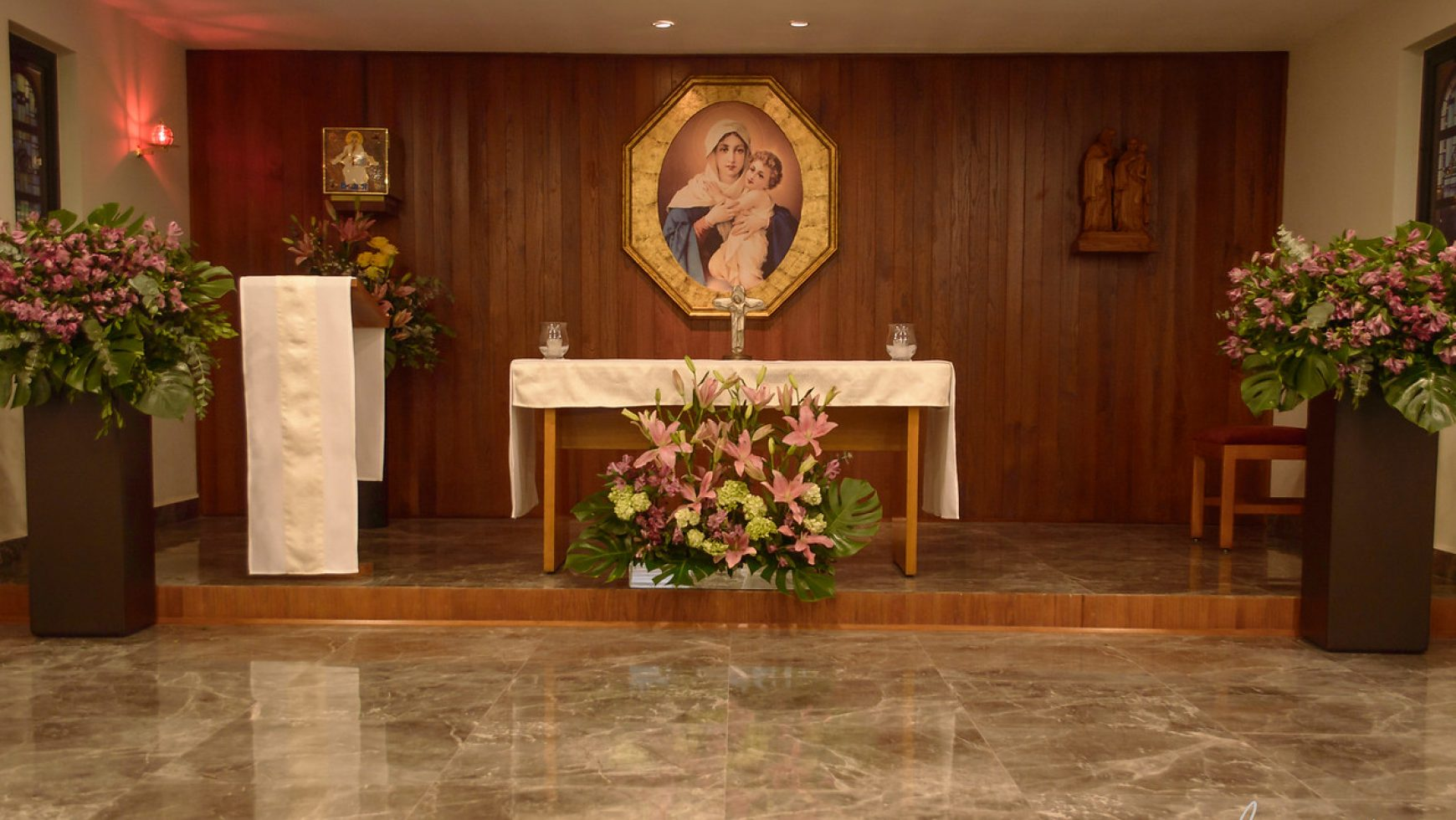 BENDICIÓN CAPILLA DEL MOVIMIENTO Y SALON PADRE JOSE KENTENICH